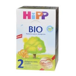 Hipp 2 BIO, proszek, mleko po 6-miesiącu, nowa konsystencja, 800 g