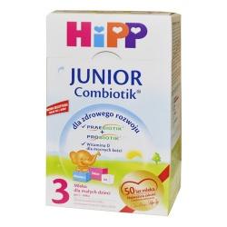 Hipp 3 Junior Combiotik, mleko w proszku po 1 roku, 600 g
