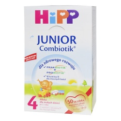 Hipp 4 Junior Combiotik, mleko w proszku po 2 roku, 600 g
