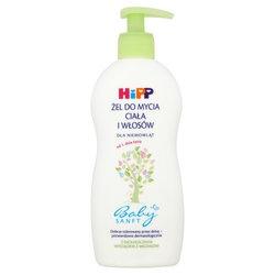 HiPP, Babysanft, żel do mycia ciała i włosów dla niemowląt od 1 dnia życia, 400 ml
