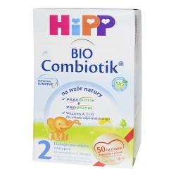 Hipp Bio 2 Combiotik, mleko w proszku po 6 miesiącu, 600 g