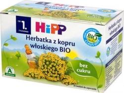 Hipp herbata z kopru włoskiego BIO, 15 g, 20 saszetek