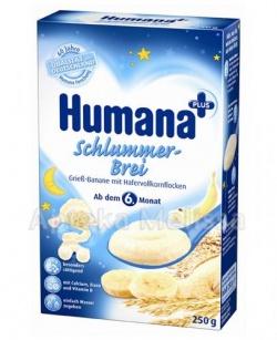 Humana Na Dobranoc kaszka mleczna bananowa