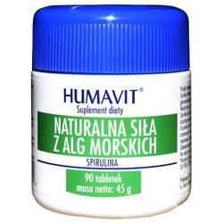 Humavit Naturalna Siła z Alg Morskich, Spirulina, tabletki, 90 szt
