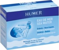 Humer fizjologiczny roztwór wody morskiej, 5 ml, 18 ampułek