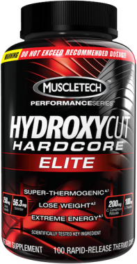 MUSCLE TECH - Hydroxycut Hardcore Elite - 110 kaps