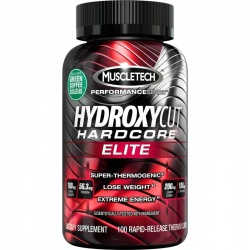 MUSCLE TECH - Hydroxycut Hardcore Elite - 180 kaps