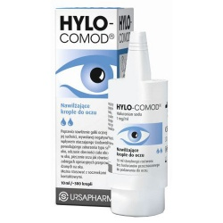 Hylo-Comod, krople do oczu, 10 ml