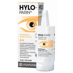 Hylo-Parin, krople do oczu, 10 ml