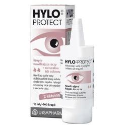 Hylo-Protect, nawilżające krople do oczu, 10 ml