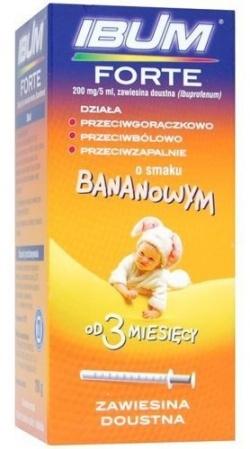 IBUM zawiesina (o smaku bananowym) 100 mg5 ml