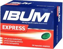 IBUM Express 400 mg, 12,24,36 kapsułek