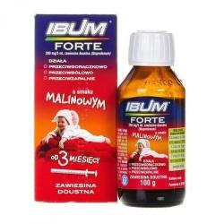 IBUM FORTE zawiesina (o smaku malinowym) 200 mg5 ml