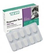 Ibuprofen Teva 200 mg x 10 tabl powlekanych