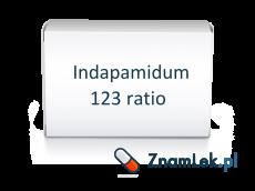 Indapamidum 123 ratio