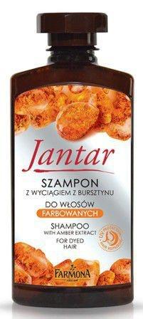 Farmona Jantar, szampon z wyciągiem z bursztynu, 330 ml