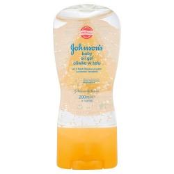 Johnson's baby oil kwiatowa świeżość w żelu, 200 ml