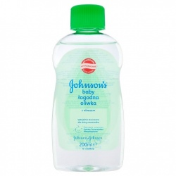Johnson's baby oil oliwka z aloesem, 200 ml