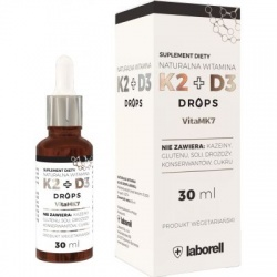 LABORELL  K2+D3 Drops, 30 ml