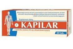 Kapilar, 50 tabletek