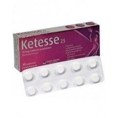 Ketesse, 10 tabletek