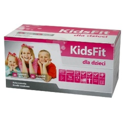 KidsFit, 30 tabletek do żucia i 30 kapsułek do żucia