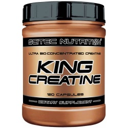 SCITEC - King Creatine - 120kaps