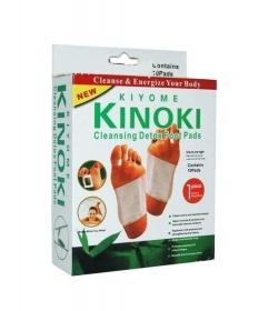 KINOKI, Plastry oczyszczające z toksyn na stopy, 10szt