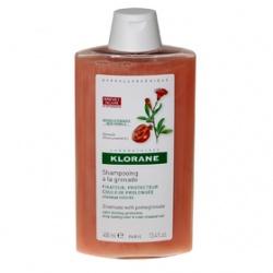 Klorane, szampon, na bazie wyciągu z granatu, 200 ml