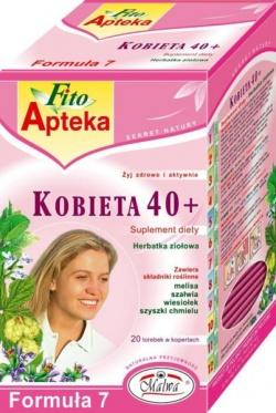 Kobieta 40+, herbatka ziołowa