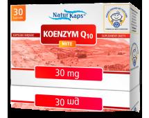 KOENZYM Q 10 MITE NATURKAPS 30 mg, kapsułki, 30 sztuk