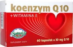 Koenzym Q10 + Witamina E, kapsułki, 60 sztuk