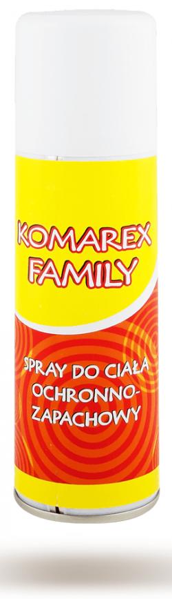 KOMAREX FAMILY Spray odstraszający komary i kleszcze 200ml