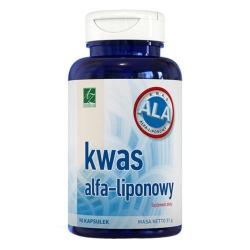 Kwas Alfa-liponowy, 90 kapsułek