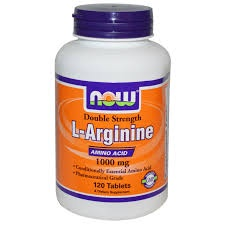NOW - L-Arginine 1000 mg - 120 tabs