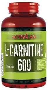 ACTIVLAB - L-Carnitine 600 - 135 kaps