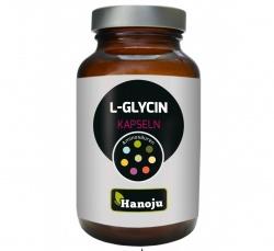 L-Glicyna, 90 kapsułek wegetariańskich