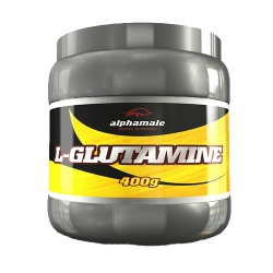 ALPHA MALE - L-glutamine - 400g