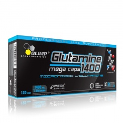 OLIMP - L Glutamine Mega Caps 1400mg - 120kaps