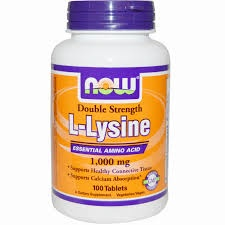 NOW - L-Lysine - 100 tabl