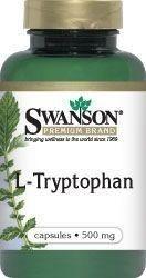 SWANSON L-tryptofan 500mg x 60 kapsułek