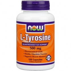 NOW - L-Tyrosine - 60 kaps
