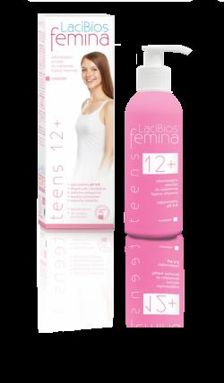 LaciBios femina Teens 12+, butelka z dozownikiem, 200 ml