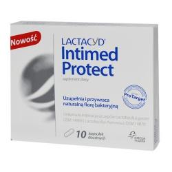 Lactacyd Intimed Protect, kapsułki, 10 szt