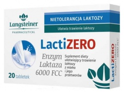 LactiZero, 20 tabletek