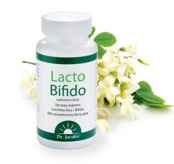 Dr Jacobs, Lacto Bifido, 90 kaps