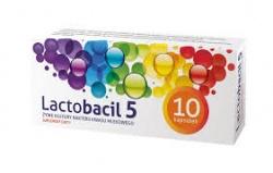 Lactobacil 5, 20x; 10x kapsułki