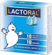 Lactoral, proszek (bez mleka, laktozy, glutenu), 10 saszetek