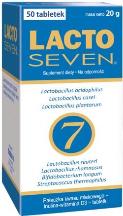 Vitabalans, LactoSeven, 50 tabl