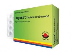 Lagosa, tabletki drażowane, 25 szt